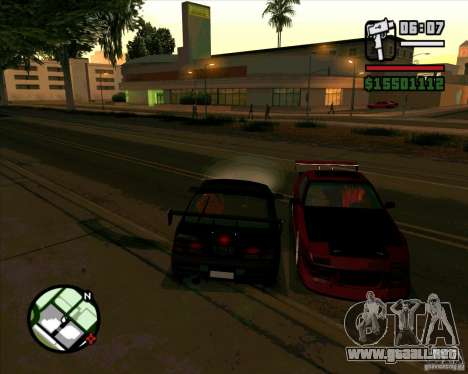 MAZDA FC3S DRIFT TUNE para GTA San Andreas left