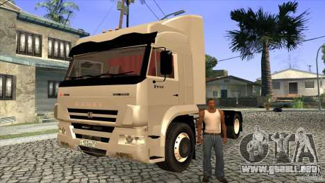 KAMAZ 5460 3420 Euro Turbo para la vista superior GTA San Andreas