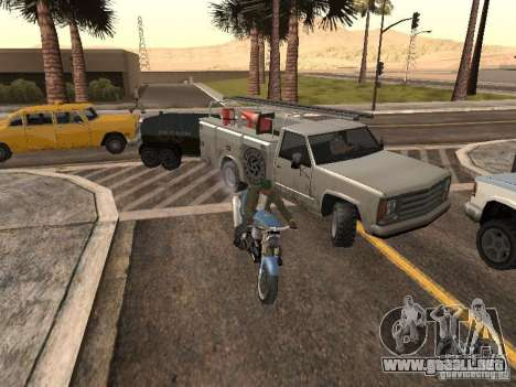 Vehículos con remolques para GTA San Andreas sucesivamente de pantalla