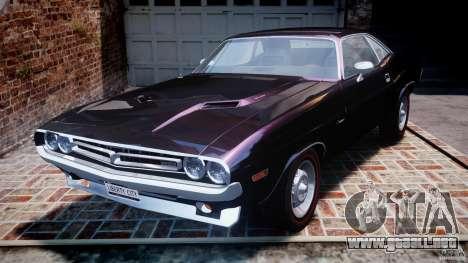 Dodge Challenger 1971 RT para GTA 4