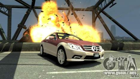 Mercedes-Benz E 500 Coupe V2 para GTA 4