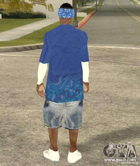 Compton Crips para GTA San Andreas sucesivamente de pantalla