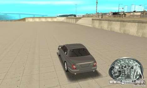 Velocímetro v.2.0 para GTA San Andreas tercera pantalla
