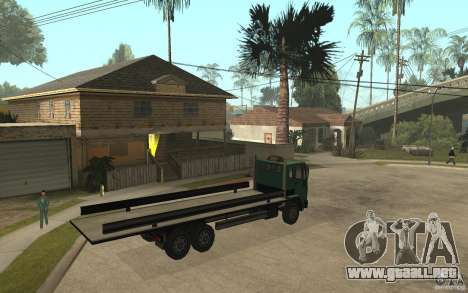DFT30 Dumper Truck para la visión correcta GTA San Andreas