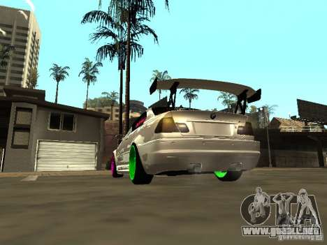 BMW M3 E46 v1.0 para GTA San Andreas left