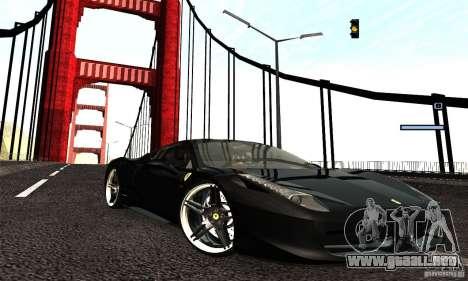 ENB Series 2013 HD by MR para GTA San Andreas tercera pantalla
