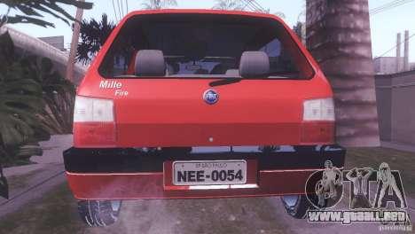 Fiat Uno Mile Fire Original para GTA San Andreas left