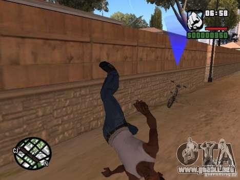 ACRO Style mod by ACID para GTA San Andreas quinta pantalla