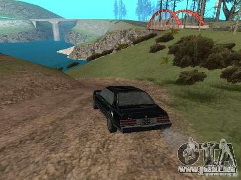 Romano es taxi de GTA 4 para GTA San Andreas vista posterior izquierda