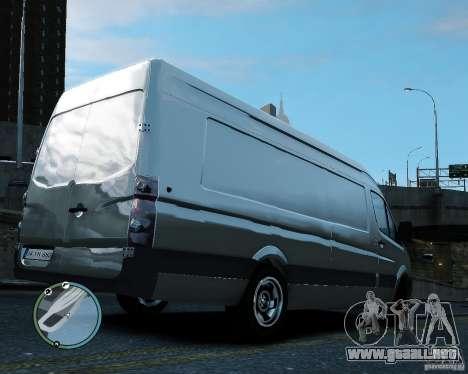 Volkswagen Crafter para GTA 4 visión correcta