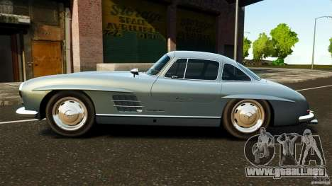 Mercedes-Benz 300 SL GullWing 1954 v2.0 para GTA 4 left
