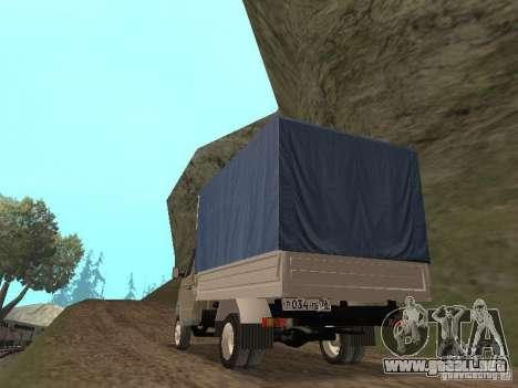 GAZ 3302 en 2001. para la visión correcta GTA San Andreas