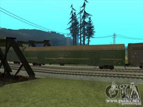 Carro # 59004960 para GTA San Andreas vista hacia atrás