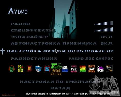 NewFontsSA 2012 para GTA San Andreas sucesivamente de pantalla
