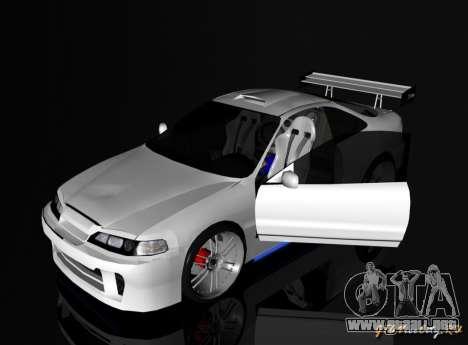 Honda Integra TUNING para GTA San Andreas left