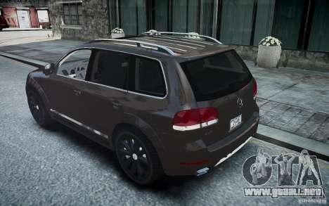 Volkswagen Touareg R50 para GTA 4 left