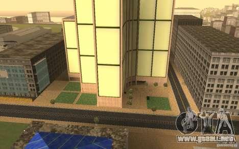 Rascacielos en San Fierro para GTA San Andreas tercera pantalla