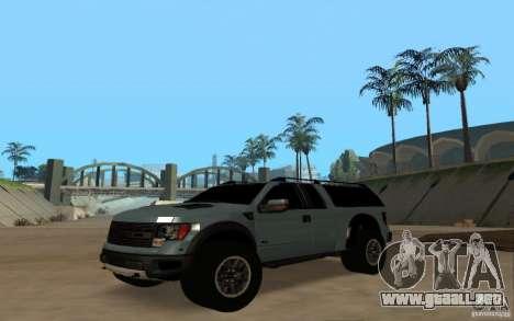 Ford Velociraptor para la visión correcta GTA San Andreas