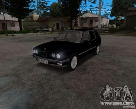 BMW 320i Touring 1989 para GTA San Andreas