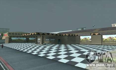 El garaje actualizado CJ en SF para GTA San Andreas tercera pantalla
