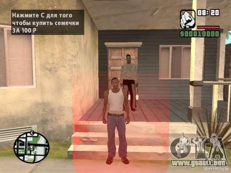 Comprar semillas para GTA San Andreas tercera pantalla