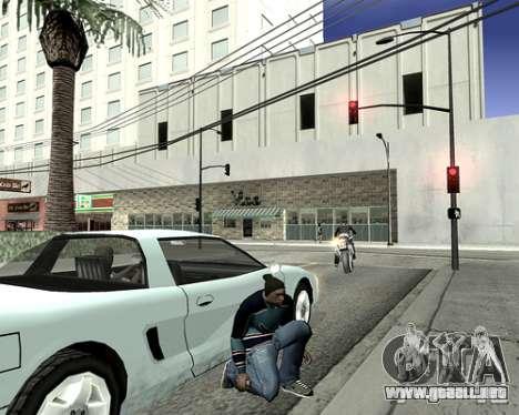 Cubierta del sistema para GTA San Andreas quinta pantalla