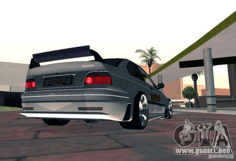 BMW M3 MyGame Drift Team para GTA San Andreas left