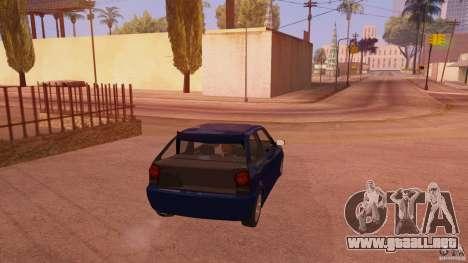 Volkswagen Gol G4 para GTA San Andreas vista posterior izquierda