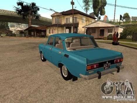 AZLK 2140 v2 para la visión correcta GTA San Andreas