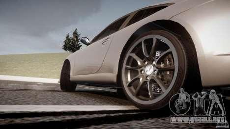 Porsche GT3 997 para GTA 4 vista desde abajo