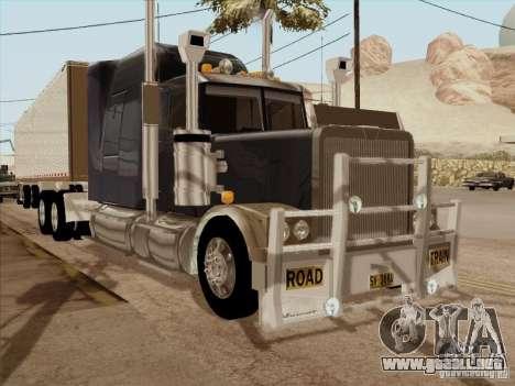Western Star 4900 Aust para GTA San Andreas left