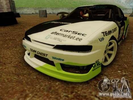 Nissan S14A Team Ghost para la visión correcta GTA San Andreas