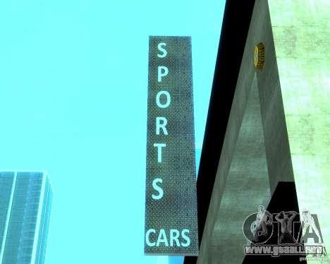 HD Motor Show para GTA San Andreas sexta pantalla