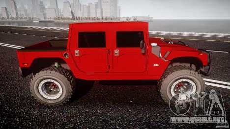 Hummer H1 4x4 OffRoad Truck v.2.0 para GTA 4 left