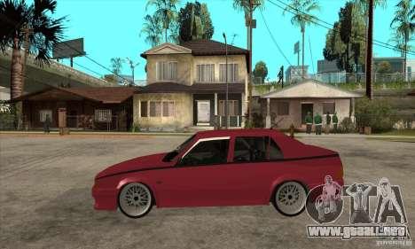 Alfa Romeo 75 Drifting para GTA San Andreas left