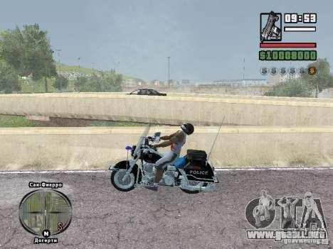 Helmet mod para GTA San Andreas segunda pantalla