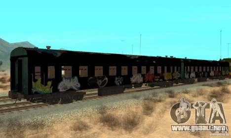 Custom Graffiti Train 1 para la visión correcta GTA San Andreas