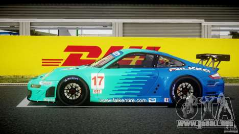 Porsche GT3 RSR 2008 para GTA 4 left