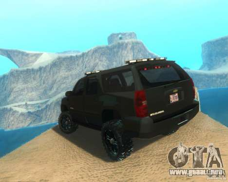 Chevrolet Suburban Crankcase Transformers 3 para GTA San Andreas left