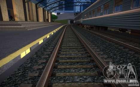 Rieles HD v 2.0 Final para GTA San Andreas tercera pantalla