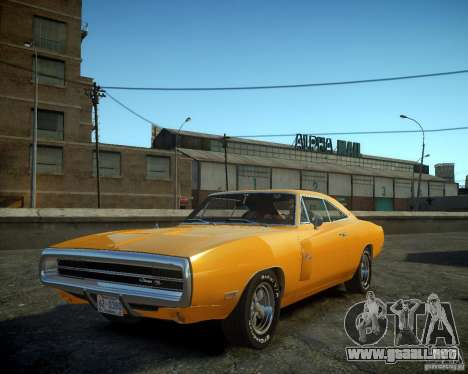 Dodge Charger Magnum 1970 para GTA 4 left
