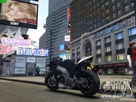 Aprilia RSV-4 Black Edition para GTA 4 visión correcta