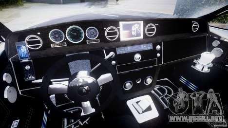 Rolls Royce Phantom Sapphire Limousine Disco para GTA 4 vista hacia atrás