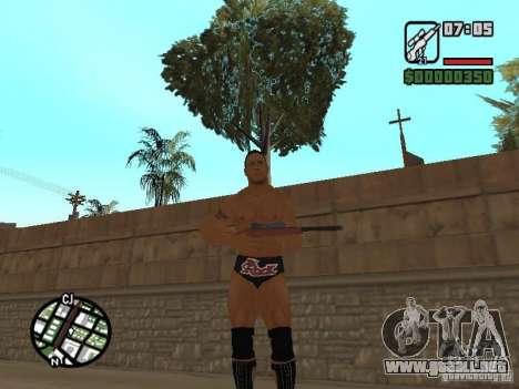 The rock para GTA San Andreas segunda pantalla