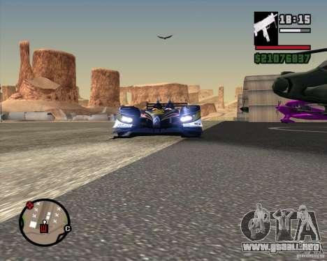 Acura ARX LMP1 para la visión correcta GTA San Andreas