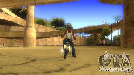 Honda Motocompo para GTA San Andreas left