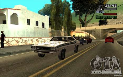 Dodge Challenger 1971 para GTA San Andreas