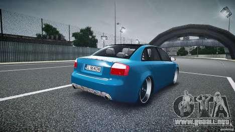 Audi S4 Custom para GTA 4 vista lateral