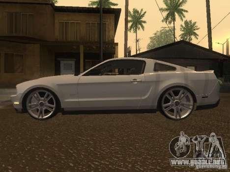Ford Mustang 2011 GT para GTA San Andreas left
