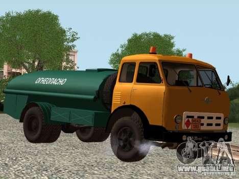MAZ TK-7, 5-500A para GTA San Andreas left